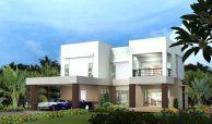 แบบบ้าน Modern Contemporary