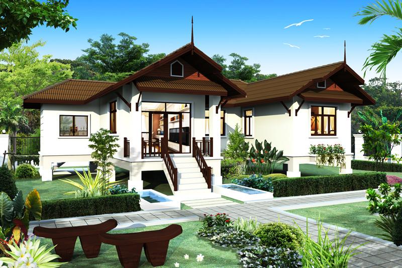 แบบบ้าน Oriental